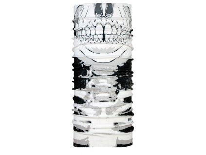 Multifunkční cyklistický šátek na kolo P.A.C. Facemask Skull 8810 217