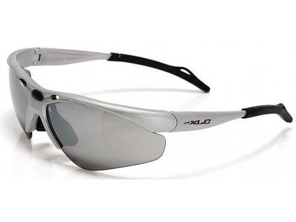 Cyklistické brýle XLC Tahiti SG C02 stříbrné