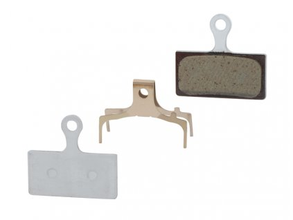 Brzdové destičky Shimano BR-M985 polymerové, s pružinkou