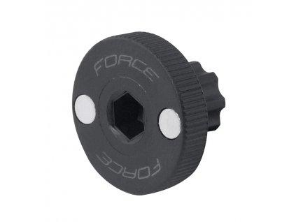 Klíč FORCE pojistné matice osy Shimano Hollowtech II plast