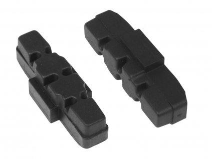 Gumičky brzd FORCE výměnné, MAGURA HYDRAULIC černé 50mm