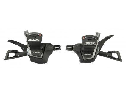 Řadící páčky Shimano SLX SL-M7000 L+R 11 x 2/3k, s objímkou