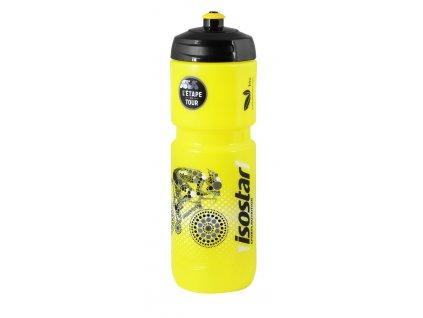 Láhev ISOSTAR 0,8 l, výsuvný vršek, ET, BIO, žlutá
