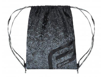 Pytlík batoh FORCE na záda černý