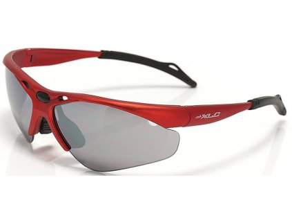 Cyklistické brýle XLC Tahiti SG C02 červené