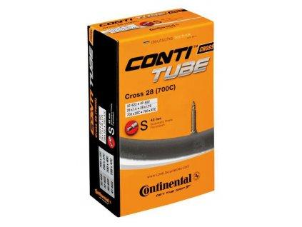 Duše Continental Cross 28 700x32 47C, 32 47 622, galuskový v. 42mm