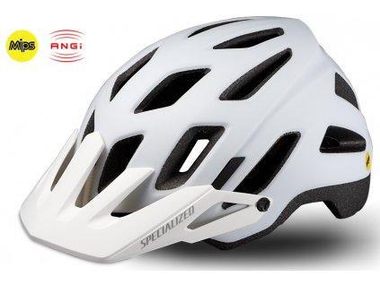 Cyklistická přilba Specialized AMBUSH COMP ANGI MIPS  bílá