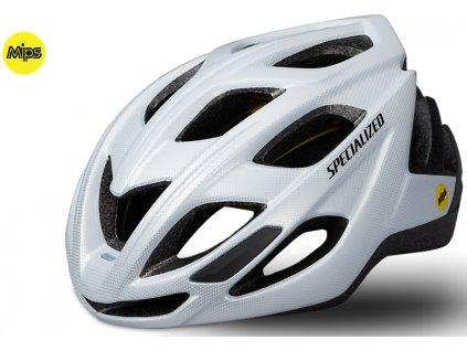 Cyklistická přilba Specialized CHAMONIX MIPS bílá