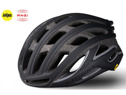Cyklistická přilba Specialized SW PREVAIL II ANGI MIPS BLK černá