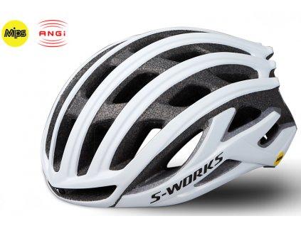 Cyklistická přilba Specialized SW PREVAIL II ANGI MIPS WHT bílá