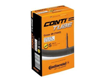 Duše Continental Cross 28 700x32 47C, 32 47 622, galuskový v. 60mm