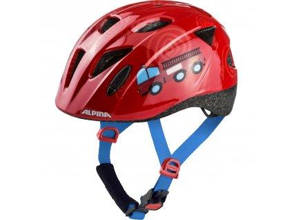 Dětská cyklistická přilba Alpina Ximo červená hasiči