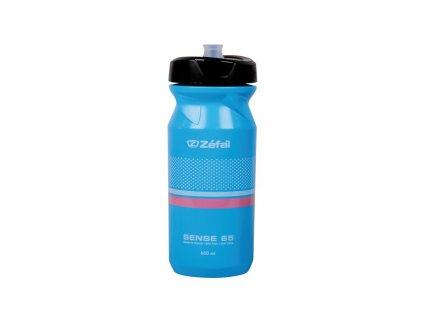 Cyklistická láhev Zéfal Sense M65 modrá 650 ml