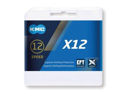 Řetěz KMC X12 Ti N 12 rychlostní 126