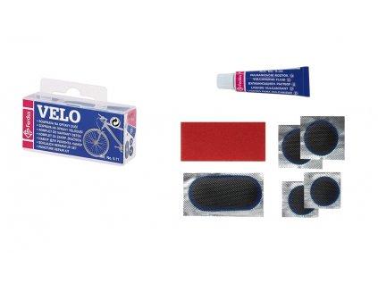 Lepení FERDUS VELO plastová krabička modrá