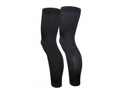 Cyklo návleky na nohy FORCE BREEZE pletené černé