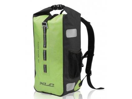 Cyklistický voděodolný batoh XLC BA W35 zelený