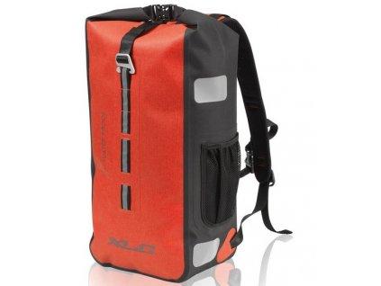 Cyklistický voděodolný batoh XLC BA W35 červený