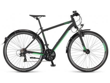 Pánské krosové kolo Winora Vatoa 21 2020 černé zelené
