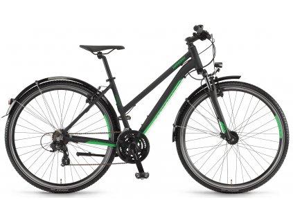 Dámské krosové kolo Winora Vatoa 21 2020 černé zelené