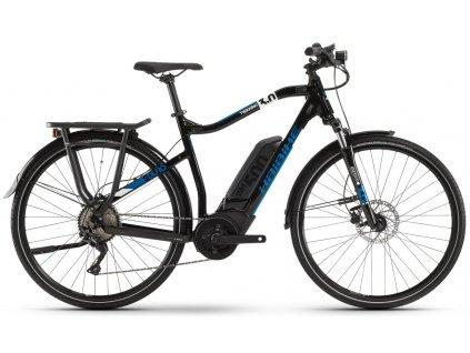 Pánské trekingové elektrokolo Haibike SDURO Trekking 3 0 2020 Bosch 500 Wh černé