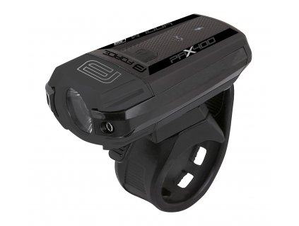 Světlo přední na kolo FORCE PAX 400 LM USB černé
