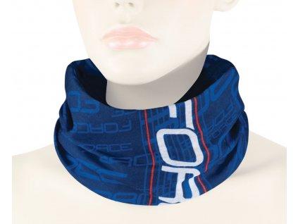 Letní multifunkční šátek FORCE modrý