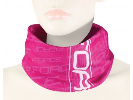 Letní multifunkční šátek FORCE růžový