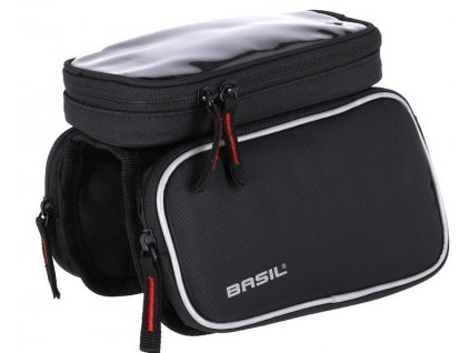 Brašna na horní rámovou trubku kola Basil Sport Design M černá