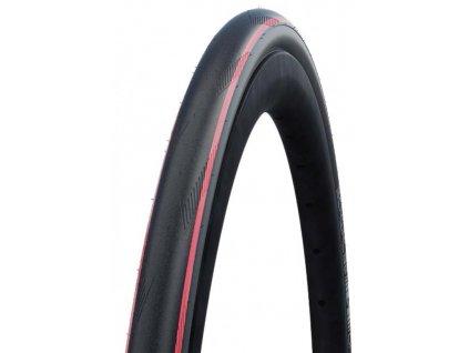 Plášť Schwalbe One TUBE TYPE 700x25C 25 622 černý červený skládací