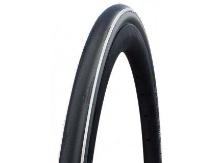 Plášť Schwalbe One TUBE TYPE 700x25C 25 622 černý bílý skládací