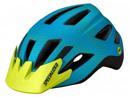 Dětská cyklistická přilba Specialized SHUFFLE Child LED MIPS modrá (50 – 55 cm)