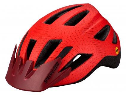 Dětská cyklistická přilba Specialized SHUFFLE Child LED MIPS červená (50 – 55 cm)