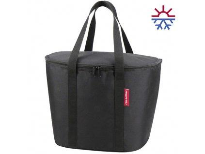Thermo taška do koše na řídítka KLICKfix Iso Basket Bag černá 1