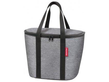 Thermo taška do koše na řídítka KLICKfix Iso Basket Bag twist