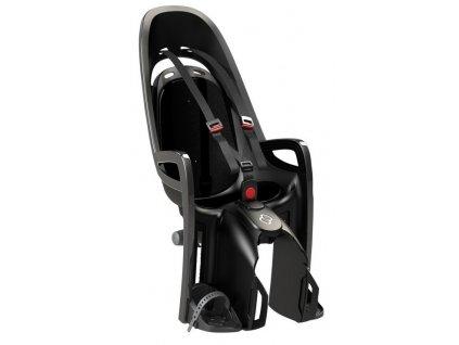 Dětská cyklo sedačka na zadní nosič Hamax Zenith šedá černá