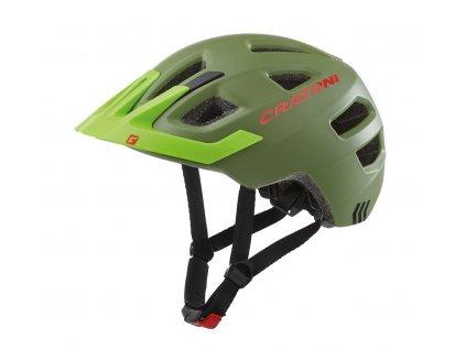 Dětská cyklistická přilba Cratoni Maxster Pro Kid jungle zelená