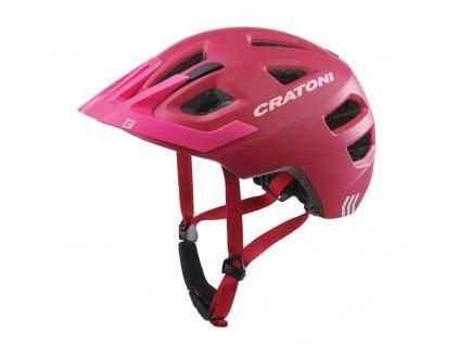 Dětská cyklistická přilba Cratoni Maxster Pro Kid růžová rose