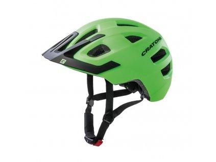 Dětská cyklistická přilba Cratoni Maxster Pro Kid lime černá