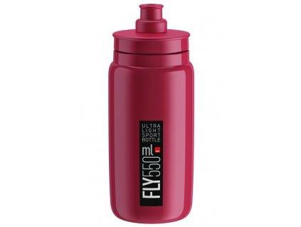 Cyklistická láhev ELITE FLY amaran černá 550 ml
