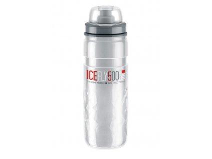 Termo cyklo láhev Elite Icefly čirá 500 ml