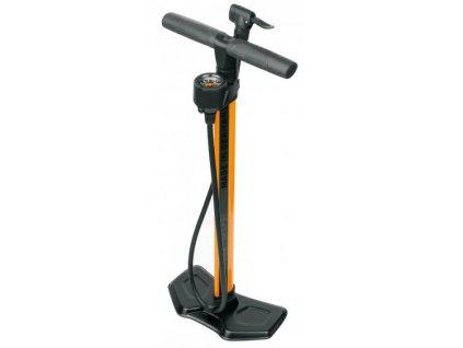 Dílenská pumpa na kolo SKS AIRWORX 10.0 oranžová