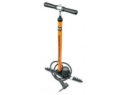 Dílenská pumpa na kolo SKS RENNKOMPRESSOR oranžová
