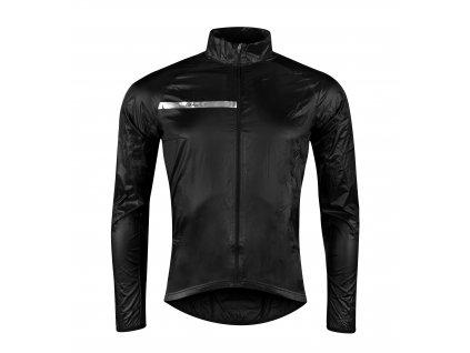 Cyklistická bunda FORCE WINDPRO neprofuk černá