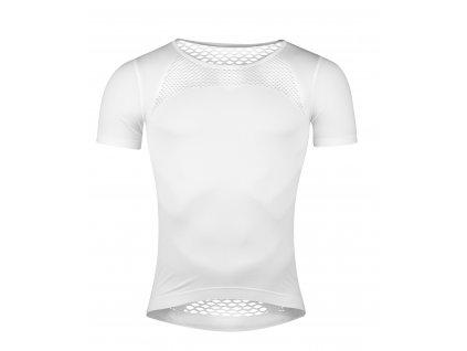 Funkční triko FORCE SUMMER krátký rukáv bílé