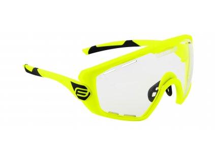 Cyklistické brýle FORCE OMBRO PLUS fluo mat., fotochromatická skla