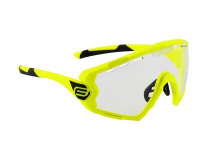 Cyklistické brýle FORCE OMBRO fluo mat., fotochromatická skla
