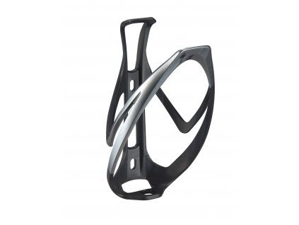 Držák na láhev Specialized Rib Cage II černý-stříbrný