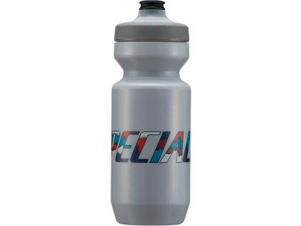 Cyklo láhev Specialized Purist WaterGate Water Bottle Ash Papercut 650 ml