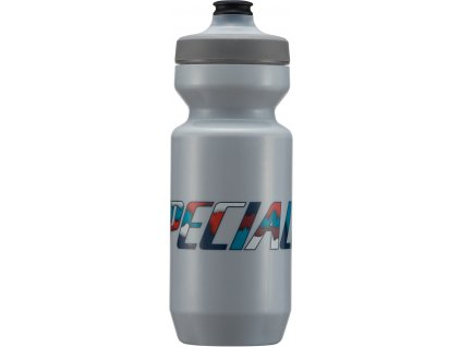 Cyklo láhev Specialized Purist WaterGate Water Bottle Ash Papercut 650 ml